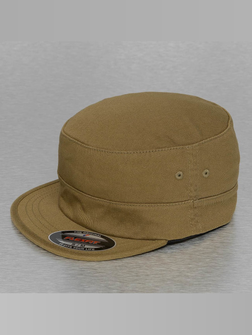 Flexfit Flexfitted Cap Top Gun Garmet Washed braun