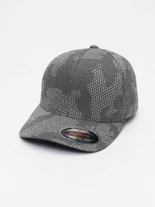 Flexfit Flexfitted Cap Jasquard Knit grau