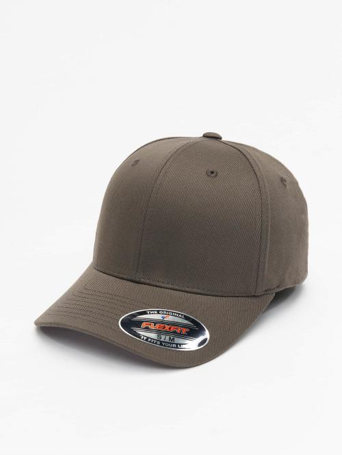 Flexfit Flexfitted Cap Wooly Combed grijs