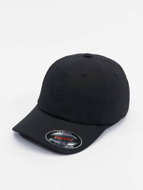 Flexfit Flexfitted Cap Low Profile Light Wooly zwart