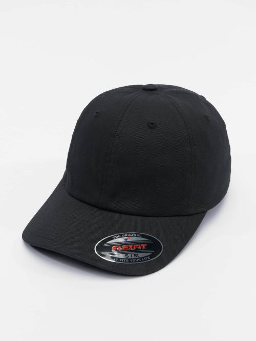 Flexfit Flexfitted Cap Cotton Twill Dad zwart