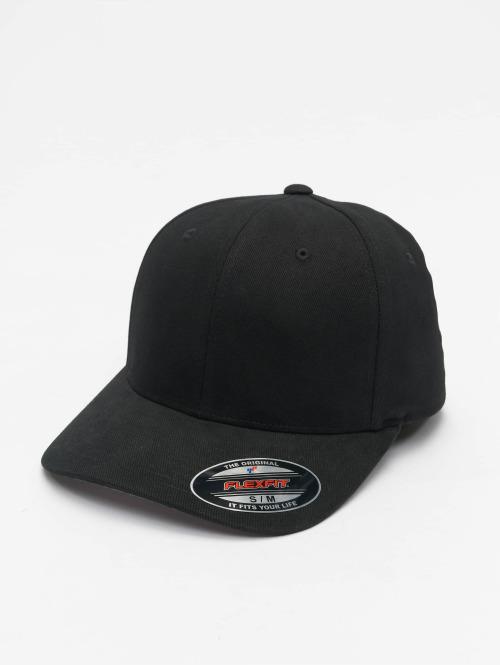 Flexfit Flexfitted Cap Twill Brushed zwart