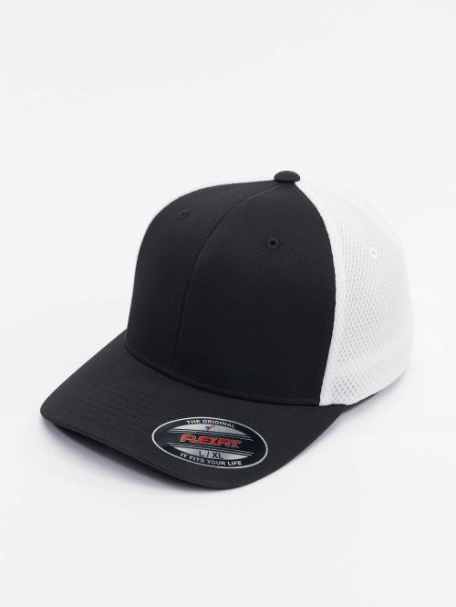 Flexfit Flexfitted Cap 2-Tone Ultrafibre & Airmesh zwart