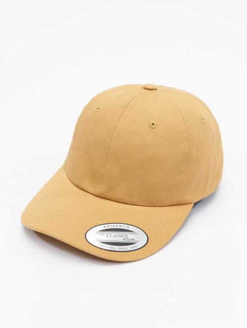 Flexfit Snapback Cap Low Profile Cotton Twill orange