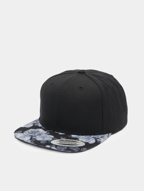 Flexfit Snapback Cap Roses schwarz