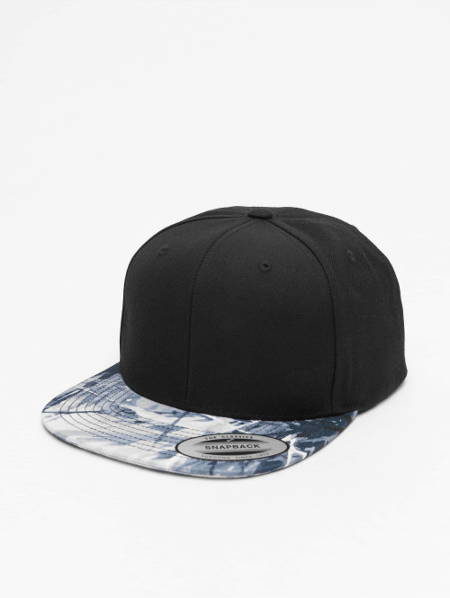 Flexfit Snapback Cap Oil Paint schwarz
