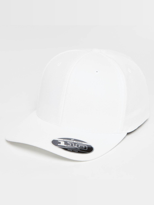 Flexfit snapback cap 110 Cool & Dry Mini Pique wit