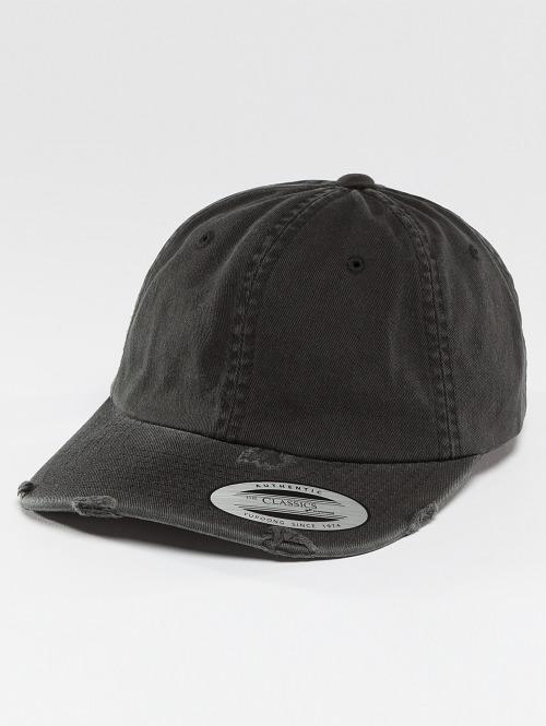 Flexfit snapback cap Low Profile Destroyed zwart