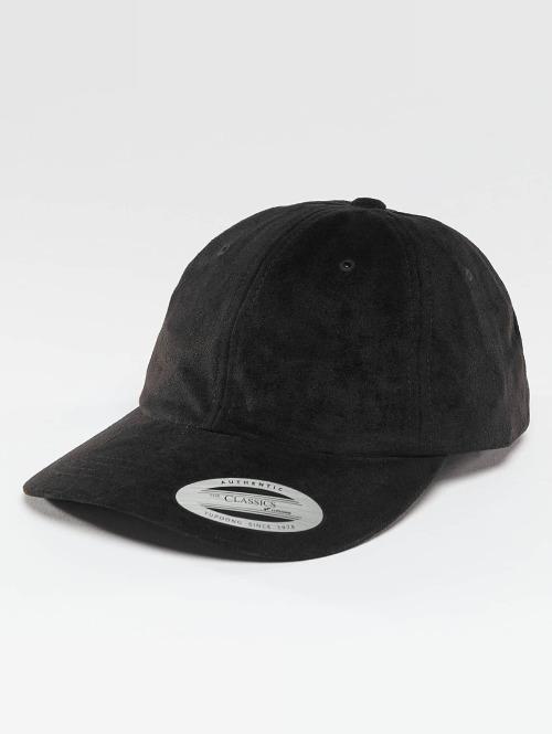 Flexfit snapback cap Low Profile Velours zwart