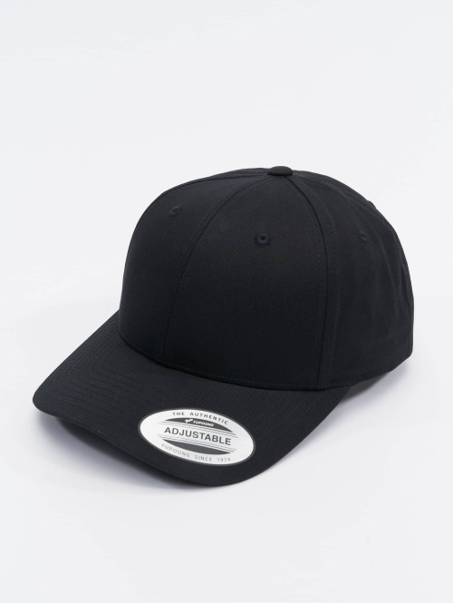 Flexfit snapback cap Curved Classic zwart