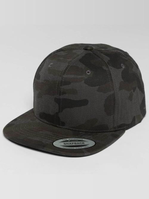 Flexfit Snapback Caps Camo Cotton camouflage