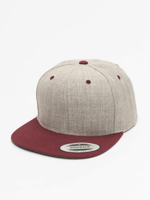 Flexfit Snapback Caps Classic Two Tone grå