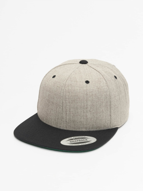 Flexfit Snapback Caps Classic Two Tone harmaa