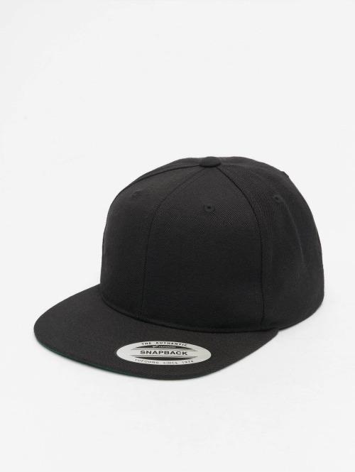 Flexfit Snapback Caps Classic musta