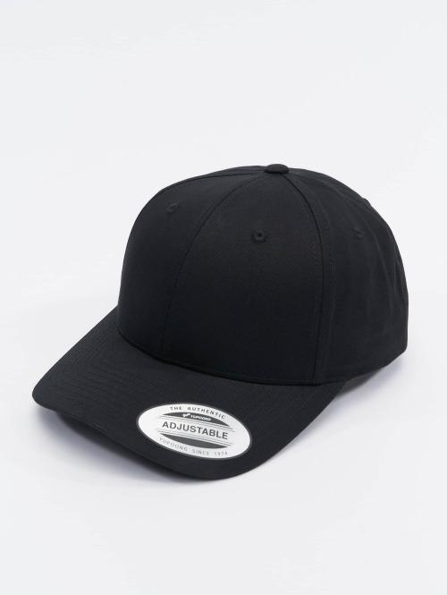 Flexfit Snapback Caps Curved Classic musta