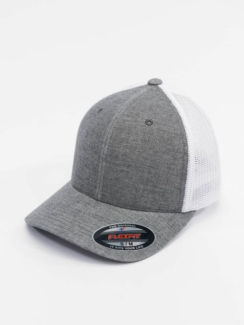 Flexfit trucker cap Retro Trucker grijs