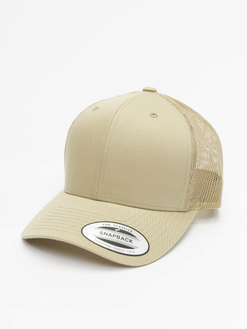Flexfit trucker cap Retro khaki