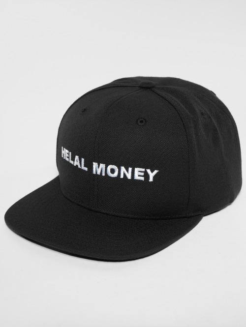 Helal Money Snapback Cap  LOGO Snapback Cap Black...