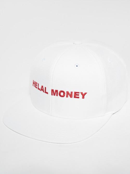Helal Money Snapback Cap  LOGO Snapback Cap White...