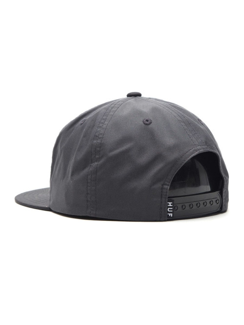 HUF Fitted Cap Bar Logo grau
