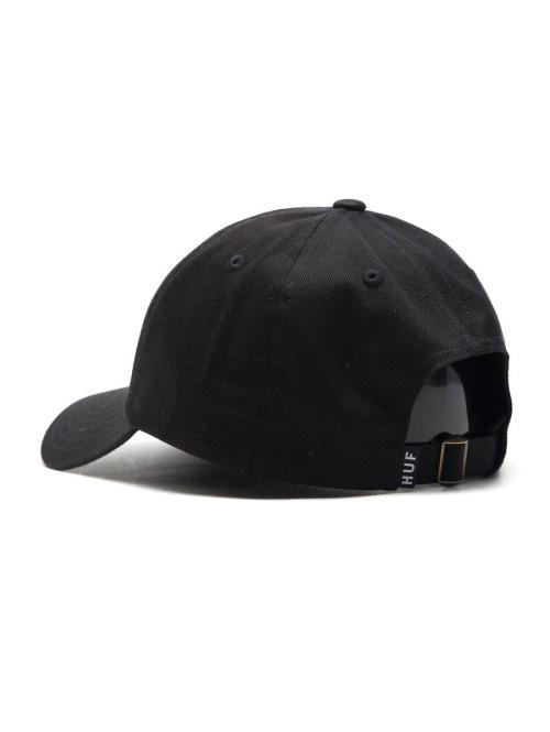HUF Fitted Cap Farbe: schwarz Material: 100% Baumwolle schwarz