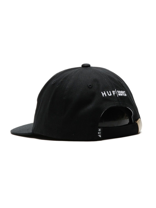HUF Fitted Cap HUF X Cliche 6 Panel-Indy Fitted schwarz