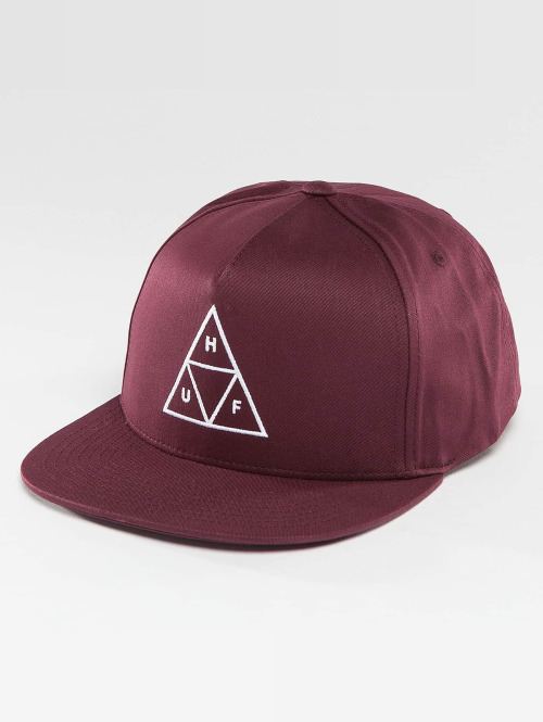 HUF Snapback Cap Triple Triangle rot