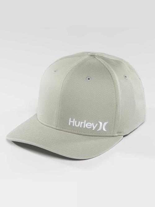 Hurley Flexfitted Cap Corp grijs