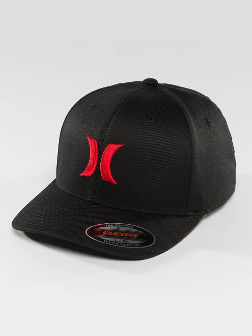 Hurley Flexfitted Cap One & Only zwart