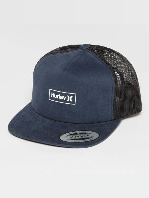 Hurley Trucker Cap Locked blau