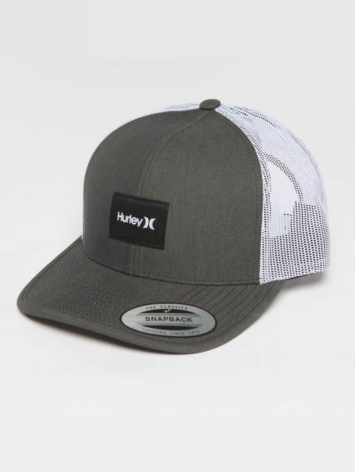 Hurley Trucker Cap Surf Company grau