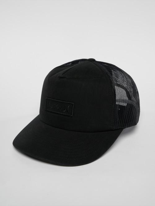 Hurley Trucker Cap Waxed schwarz