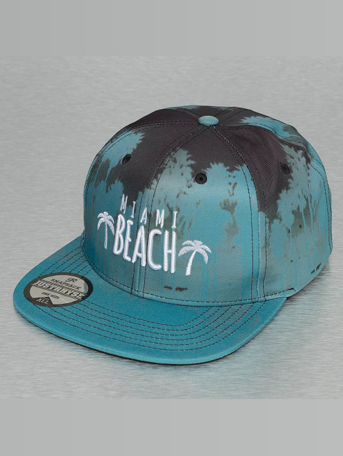 Just Rhyse Snapback Cap Miami Beach blau