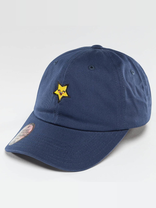 Just Rhyse snapback cap Star blauw