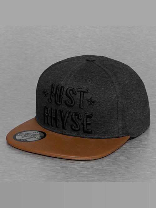 Just Rhyse snapback cap Logo grijs