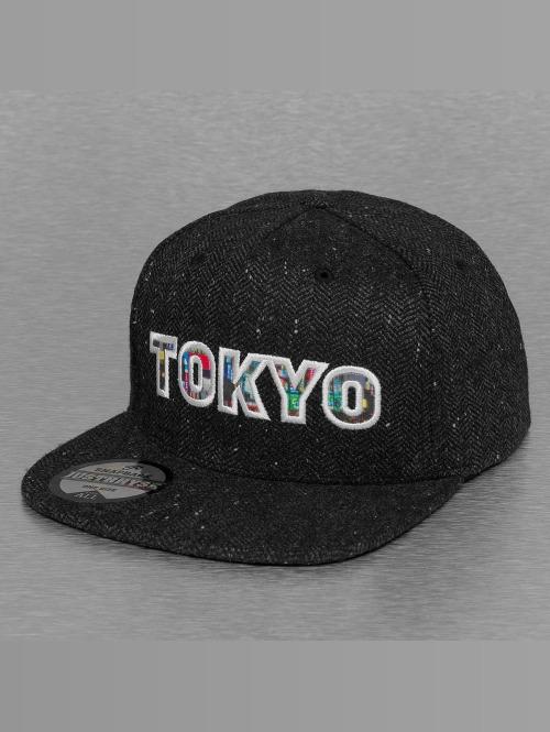 Just Rhyse Snapback Cap Tokyo schwarz