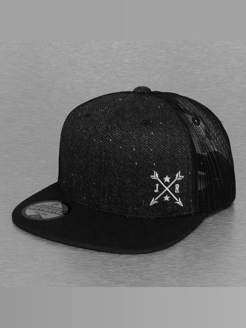 Just Rhyse trucker cap Wyatt zwart