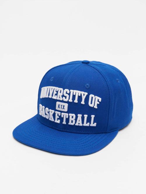 K1X Snapback Cap University of Basketball blau