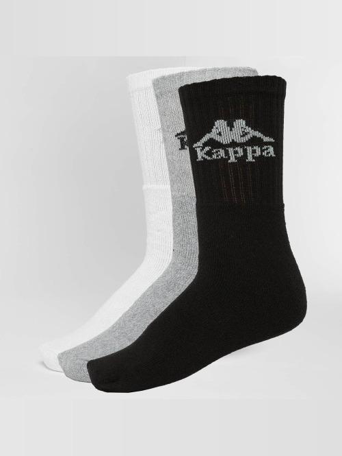 Kappa Chaussettes Australien 3 Pack noir