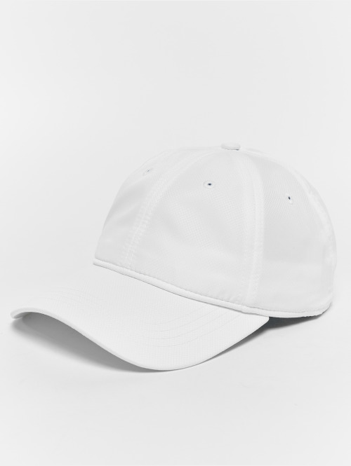 Lacoste Snapback Caps Strapback bialy