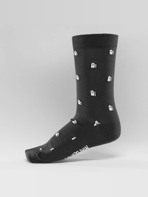 Lousy Livin Socken Mini Houses grau