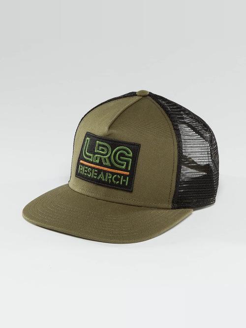 LRG Casquette Trucker mesh Ill Sons Strapback olive