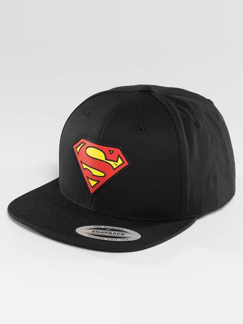 Merchcode snapback cap Superman zwart