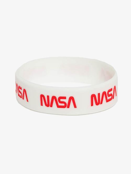 Mister Tee armband NASA wit