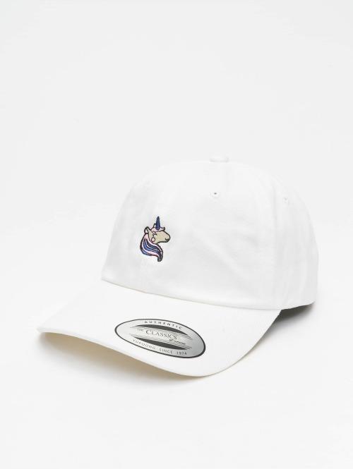 Mister Tee Snapback Cap Unicorn weiß