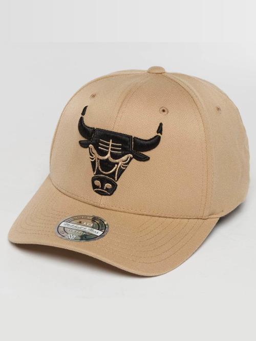 Mitchell & Ness Snapback Cap The sand and Black 2-Tone NBA Chicago Bulls beige