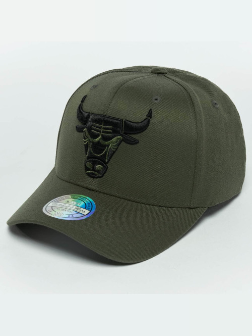 Mitchell & Ness snapback cap The Olive & Black 2 Tone Logo 110 Chicago Bulls olijfgroen