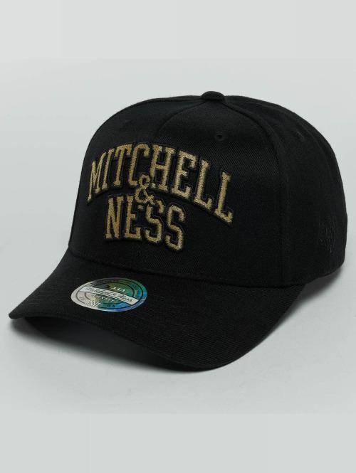 Mitchell & Ness Snapback Cap The Black And Golden 110 schwarz