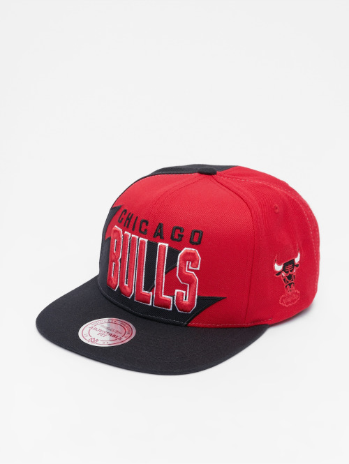 Mitchell & Ness snapback cap HWC Sharktooth Chicago Bulls zwart