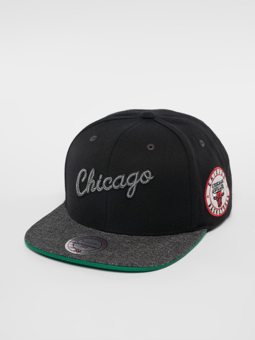 Mitchell & Ness snapback cap NBA Chicago Bulls Melange Patch zwart